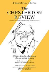 The Chesterton Review en Espa�ol / 2