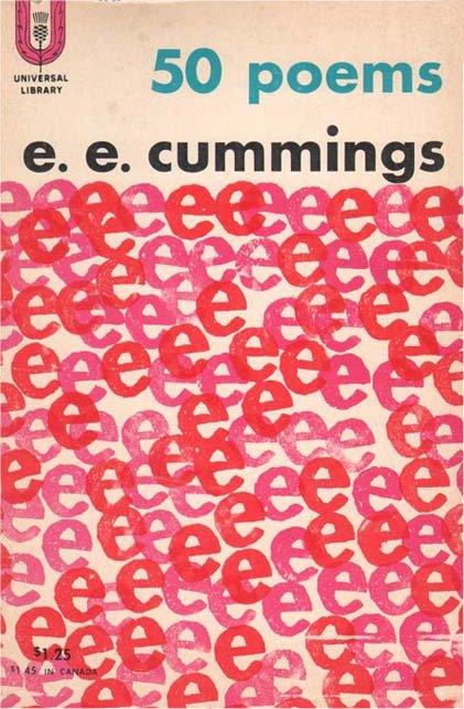 """""""50 poems"""", E. E. Cummings"""