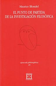 El punto de partida de la investigación filosófica