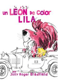 Un le�n de color lila