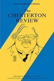 The Chesterton Review en Espa�ol / 6