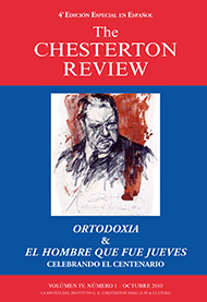 The Chesterton Review en Espa�ol / 4